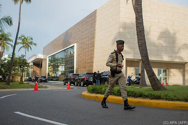 Die Gespräche fanden in Santo Domingo statt