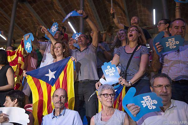 Unabhängigkeitsbewegung gewinnt an Momentum