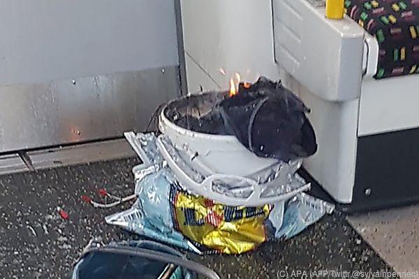 Eine selbstgebastelte Bombe explodierte in der U-Bahn