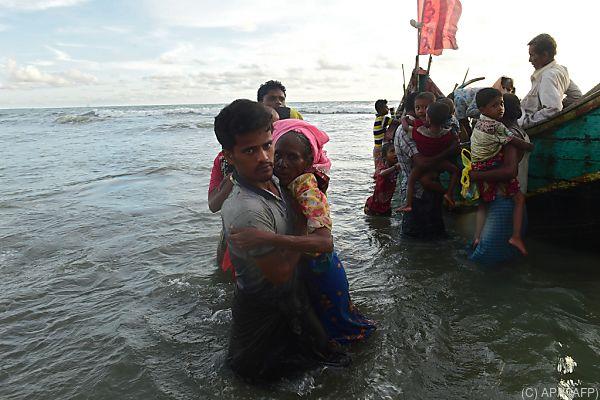 Flüchtlingskrise belastet Beziehungen zwischen Bangladesch und Myanmar