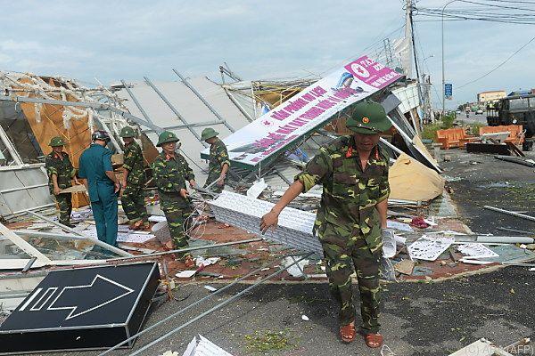 Über 120.000 Häuser wurden beschädigt