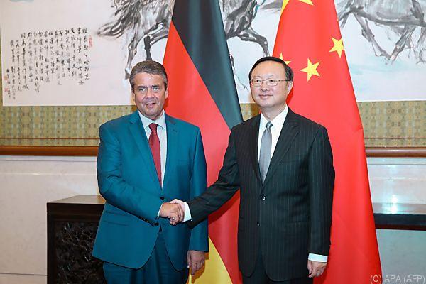 Deutscher Außenminister weilte in Peking
