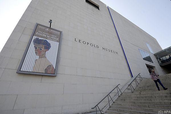 Ausstellung im Leopold Museum zu sehen