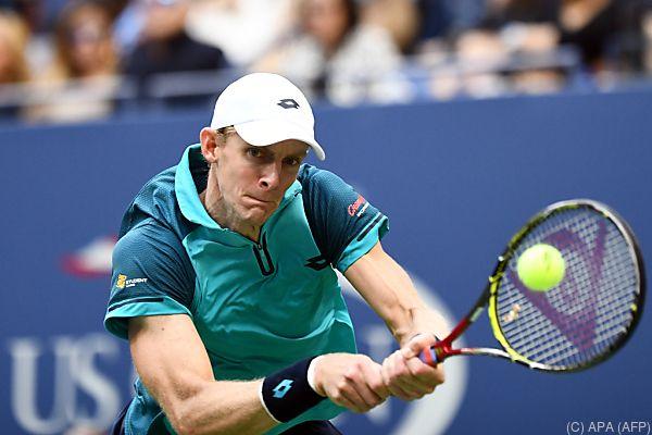 US-Open-Finalist Kvin Anderson kommt nach Wien