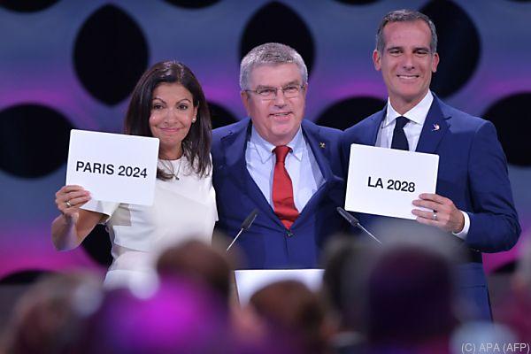 Sommerspiele 2024 in Paris, 2028 in Los Angeles
