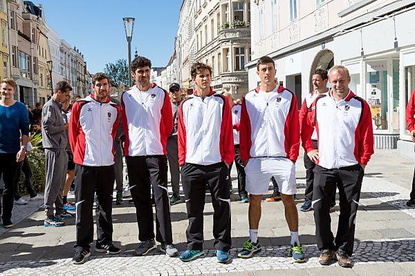 Österreichs Daviscup-Team ist bereit