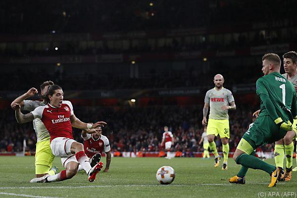 Bellerin sorgte kurz vor Schluss für den 3:1-Endstand für Arsenal