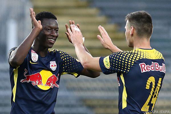 Haidara ließ Salzburg mit Last-Minute-Siegtor in Mattersburg jubeln