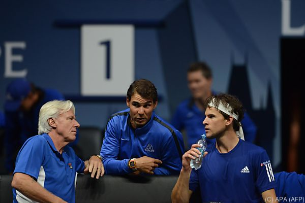 Björn Borg schickt heute Nadal und Federer ins Rennen