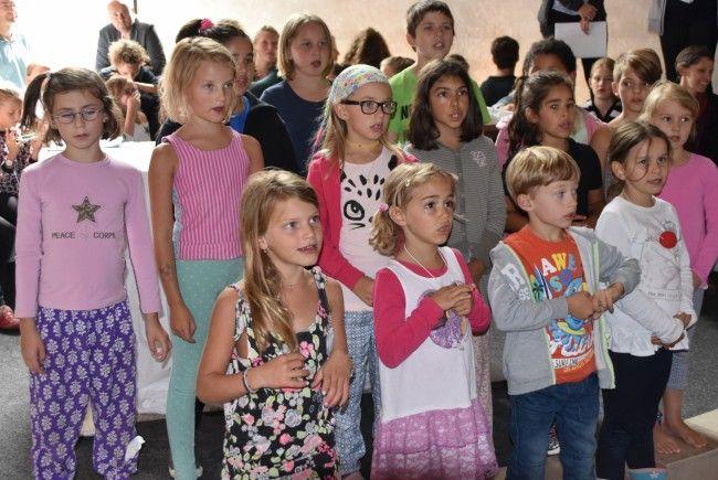 Abschluss Veranstaltung musikalischen Sommerlager der jungen Kirche