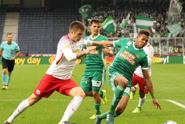 Unentschieden ging das Match zwischen Rapid Wien und Red Bull Salzburg am Sonntag aus.