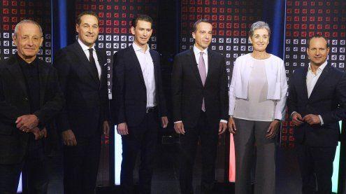 Spitzenkandidaten zu Fragen der Außen- und Europapolitik