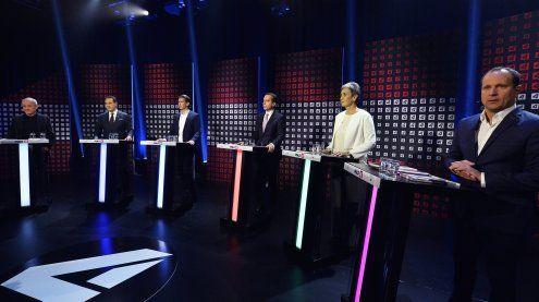 Erste Elefantenrunde auf Puls 4: Harmonie bei ÖVP, SPÖ & NEOS