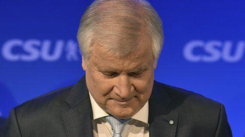 Die CSU stürzt dramatisch ab: Seehofers historische Schmach