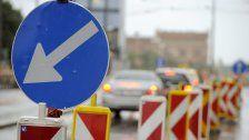 Verkehrsbeschränkungen bei Ortsausfahrt Lorüns