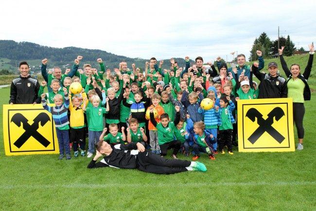 Die Kinder hatten beim Austria-Camp ihren Spaß