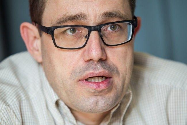 Hannes Hausbichler führt die Männerpartei in die zweite Nationalratswahl.