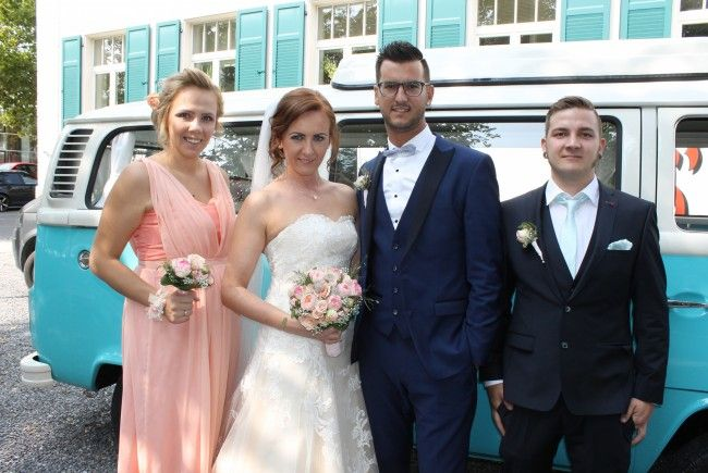 Adisa Alijagic und Marcel Dietrich haben geheiratet