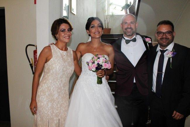 Gökce Coskun und Cedrik Kunz haben geheiratet