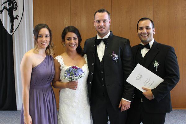 Hochzeit von Maria und Nicolas.