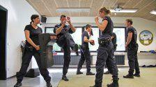 Ausbildung: So werden die Polizisten vorbereitet
