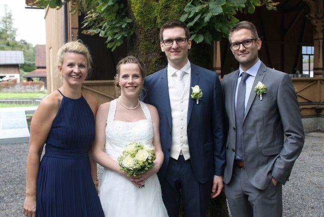 Sabrina Rabel und Harald Rinösl haben geheiratet