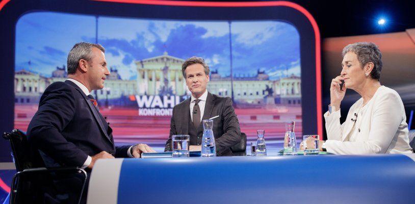 ORF-Duell Lunacek gegen Hofer: Rasante Themenwechsel und Streit um Todesstrafe