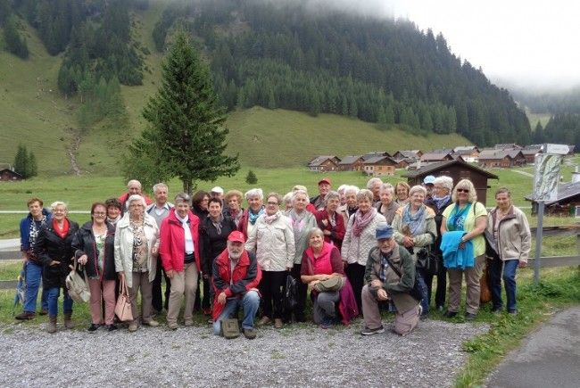 PVÖ Lustenau: Das Wandern ist des Müllers Lust