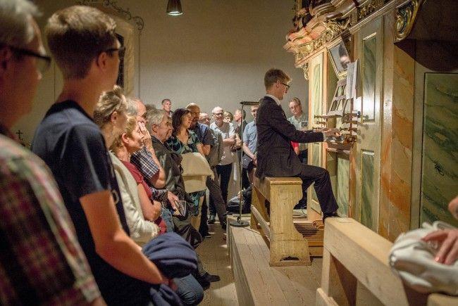 Orgel-Workshop mit Martin Heini am 8. September.