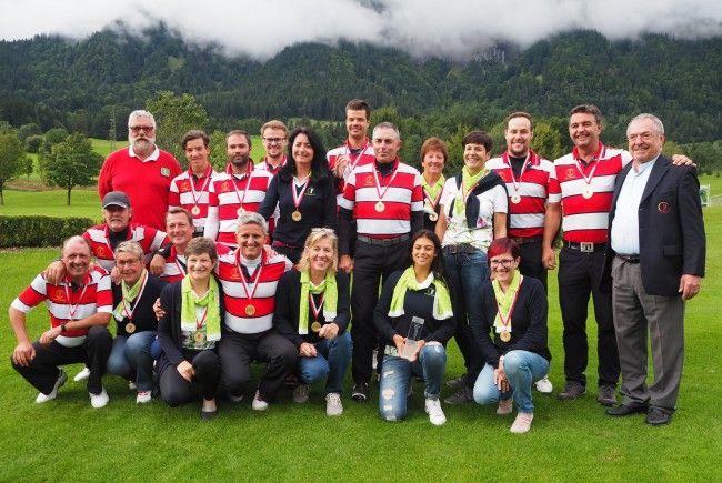 Rankweil und Braz holen sich die Mannschafts-Titel im Golf