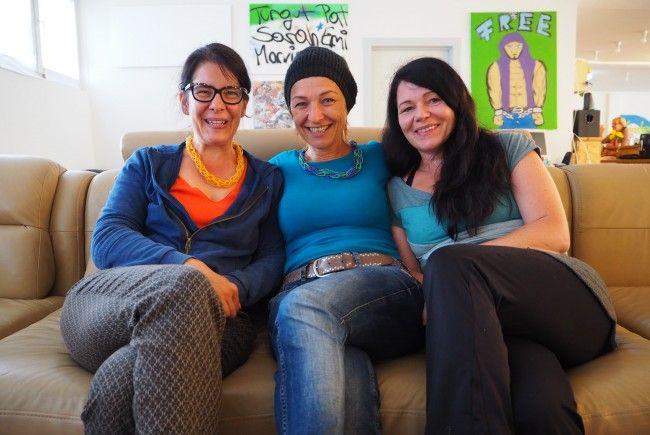 Gerda, Ingrid, Bianca vom Cafe Mimi