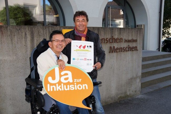 Die Selbstvertreter der Lebenshilfe Vorarlberg laden zur Wahl-Informations-Veranstaltung in leichter Sprache nach Schwarzach ein.