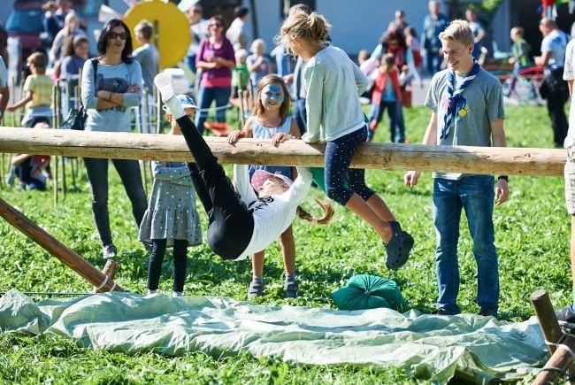 Ganz Lustenau in Kinderhand: Am Sonntag, den 24. September, stehen in Lustenau die Kinder im Zentrum.