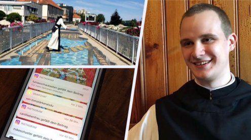 Klosterleben im Social Web: Ein Ländle-Mönch ist auf Instagram