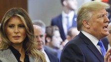 Ups! Trump vergisst, dass Melania neben ihm steht
