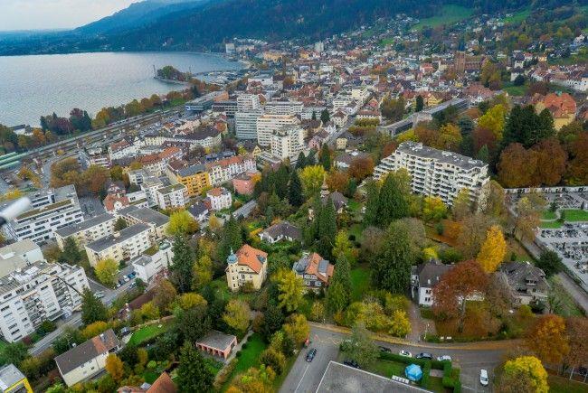 Die Villa Freudeck im Georg Baumeister Viertel in Bregenz soll abgerissen werden.