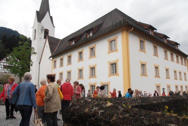 Seniorenring Club 50+ Lustenau, Wanderung im Großen Walsertal
