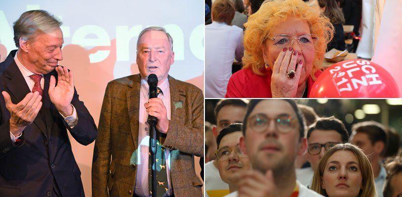 Wahl-Beben in Deutschland: Schwere Verluste für CDU und SPD - AfD klar Dritte