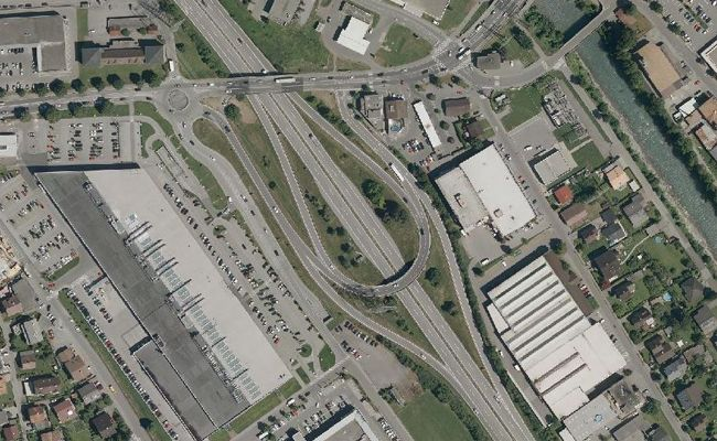 Die Vorarbeiten für die neue Anschlussstelle Bludenz-Bürs haben begonnen.