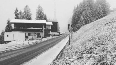 Einfach zu früh! Vorarlberg hat erste Schneeflocken gesichtet