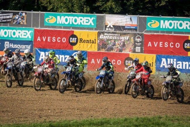 Rene Ender beim Motocross in Gutenswil.