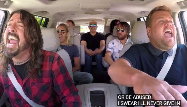 Carpool Karaoke mit den Foo Fighters