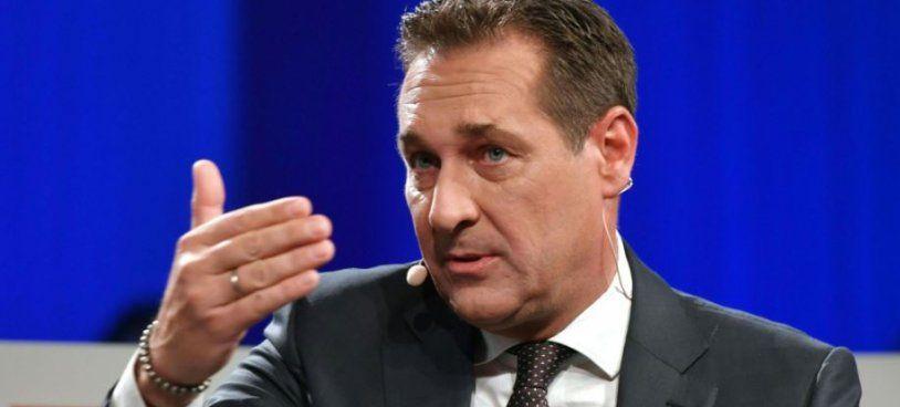 HC Strache im VOL.AT-Live-Talk zu Gast