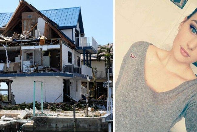 Die 21-Jährige hatte Glück und wurde evakuiert.