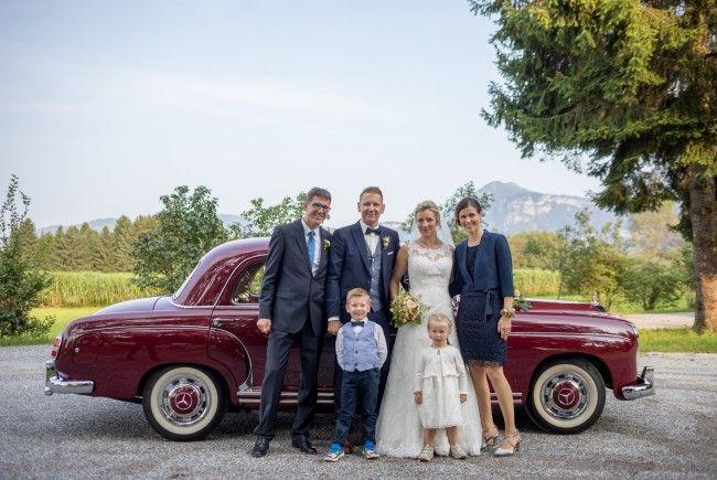 Melanie und Jochen Grabher feierten Hochzeit.