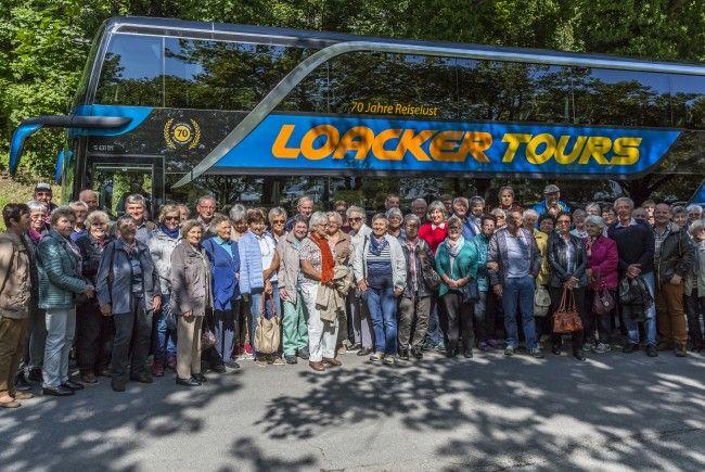 Der Kneippverein Mäder beim Jahresausflug 2017