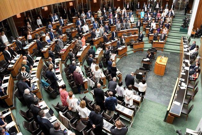 Vor den Wahlen tagt der Nationalrat.