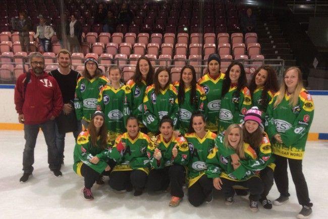 Die Eishockeydamen aus Lustenau vor der Premierensaison in der Bundesliga