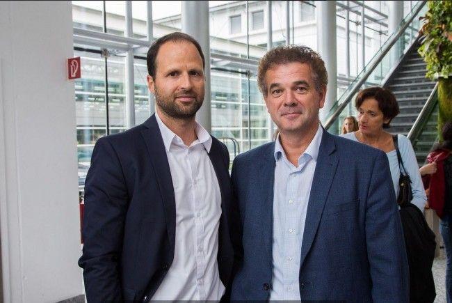 Christoph Jenny und Marco Tittler übernehmen die Führung.