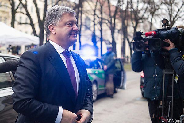 """Poroschenko will mit Blauhelmen """"Recht und Ordnung"""" wiederherstellen"""